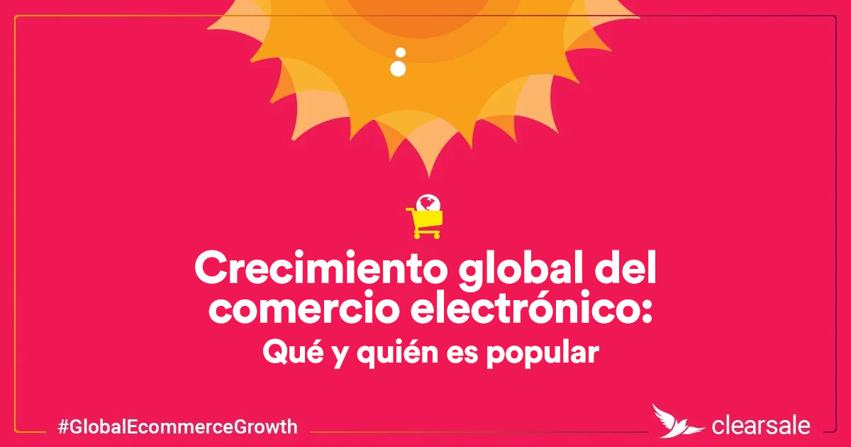 Crescimiento global del comercio eletrónico