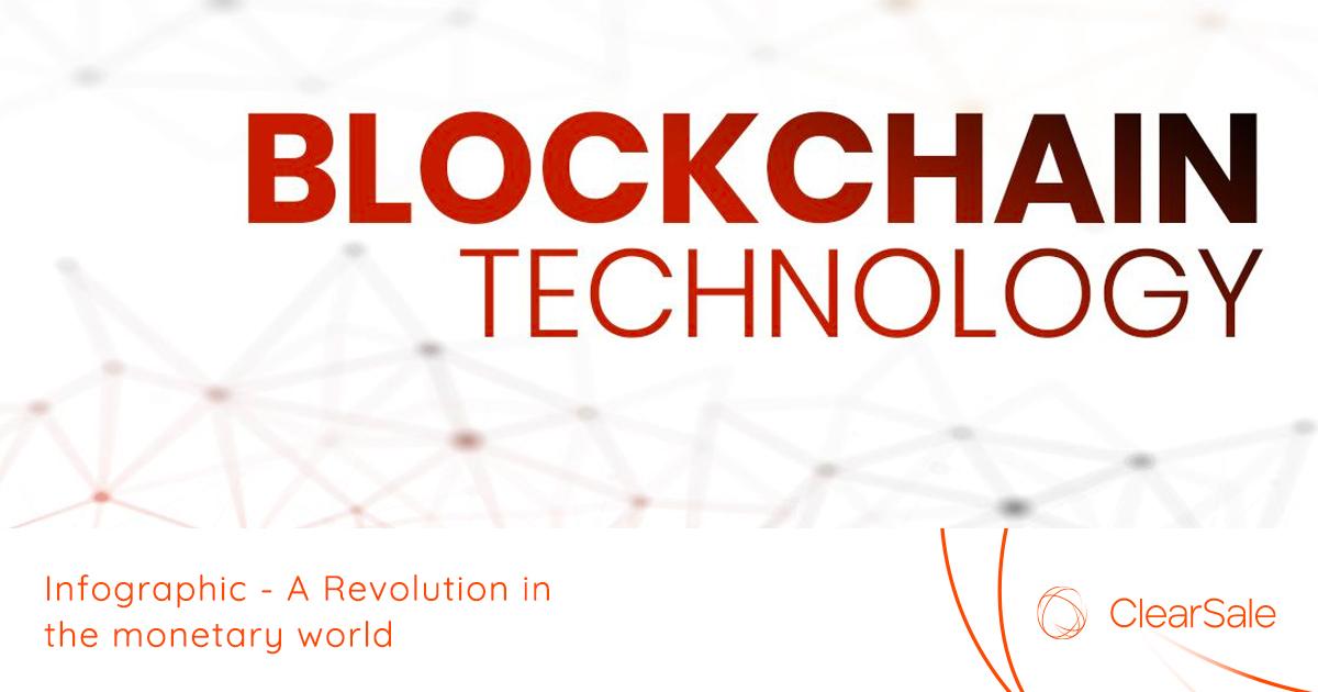 Gráfico informativo sobre la tecnología de blockchain