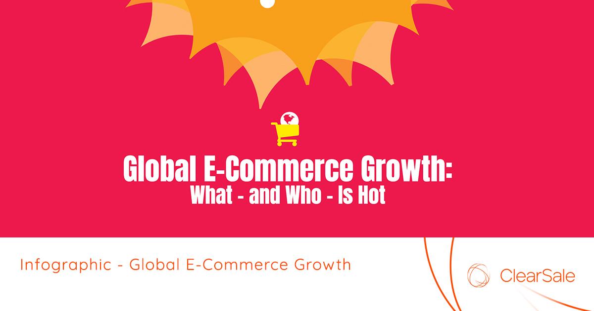 Crecimiento global del comercio electrónico